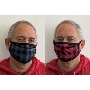 Plaid - 2 Layer Cloth Face Mask Flat